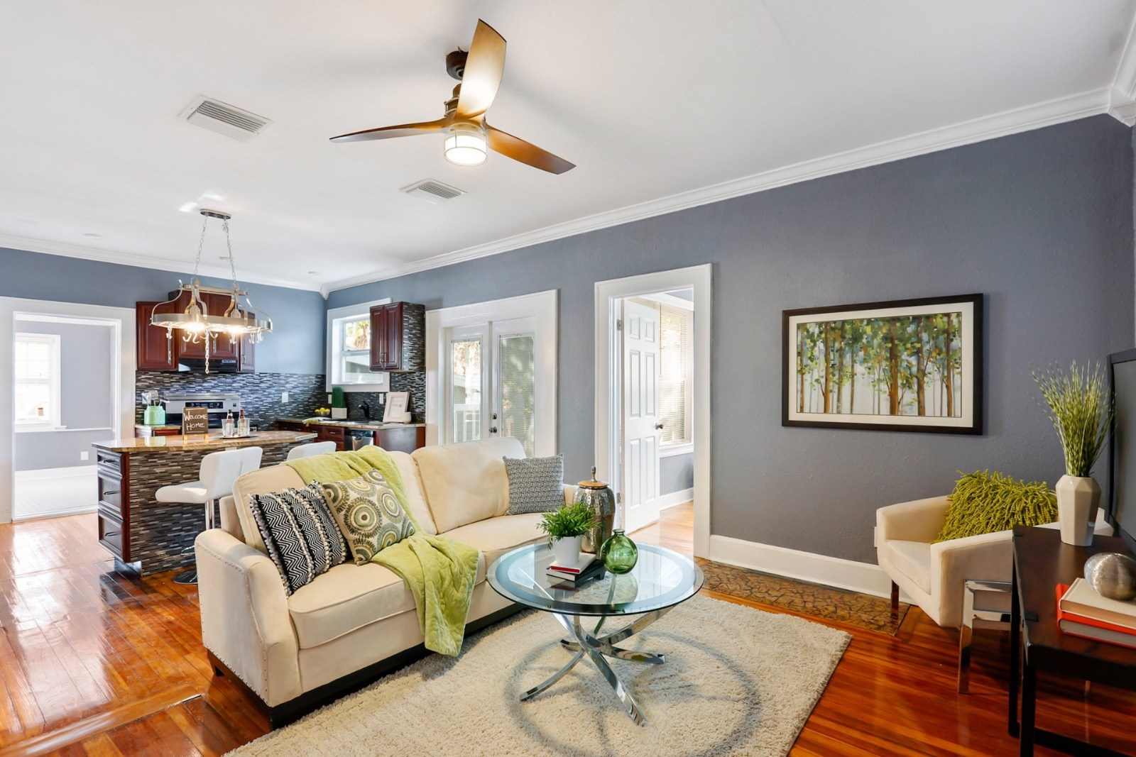 Staged Bungalow Home in St Pete