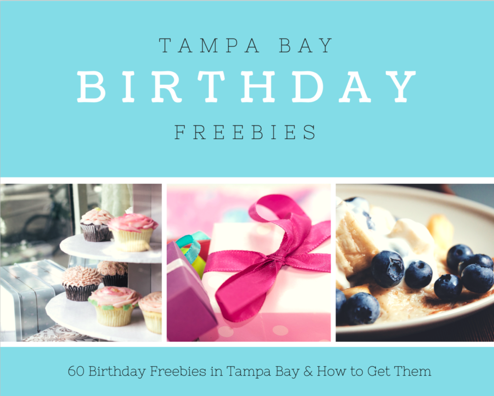 Tampa Bay Birthday Freebies