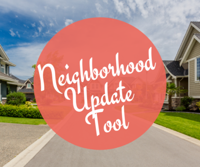 Neighborhood Update Tool